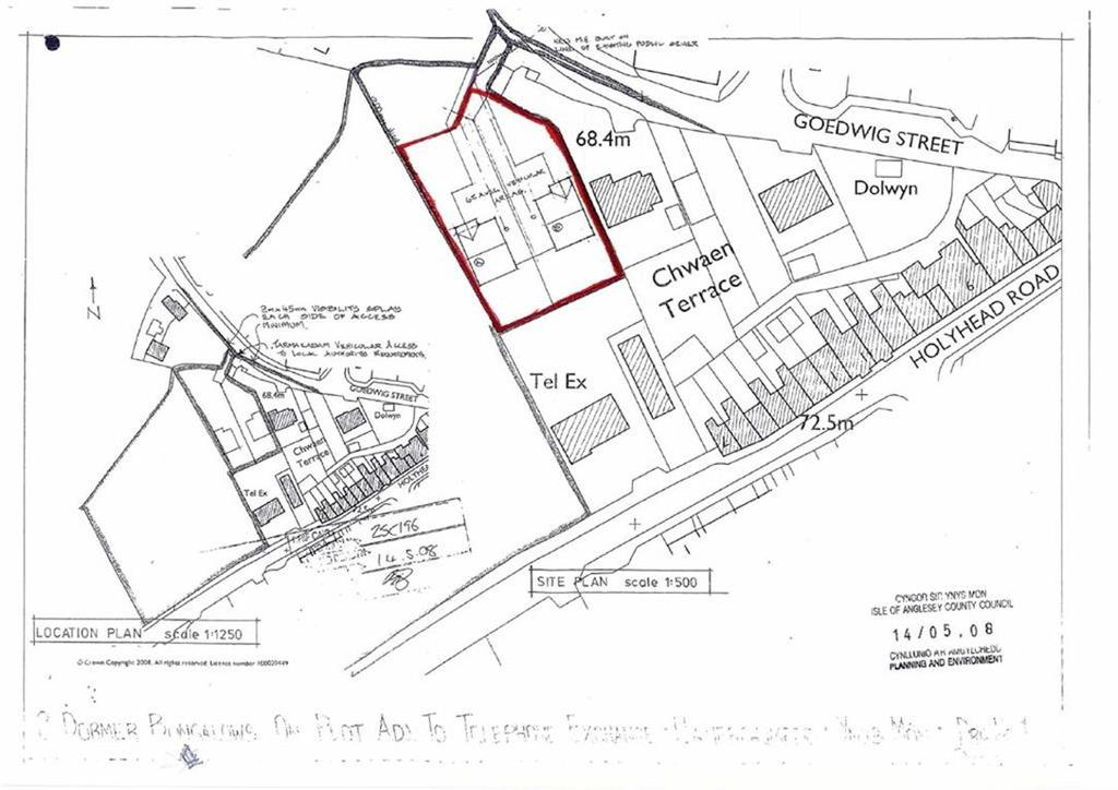 Land Commercial for sale in Goedwig Street, Llanerchymedd, Anglesey, LL71