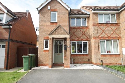 3 bedroom semi-detached house for sale - Darien Way, Thorpe Astley, Leicester