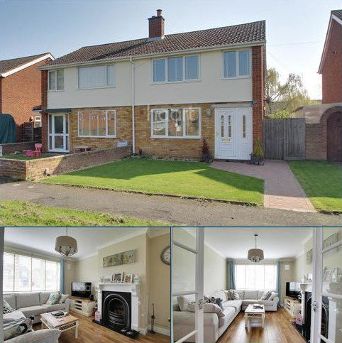 3 bedroom semi-detached house for sale - Booth Way, Little Paxton