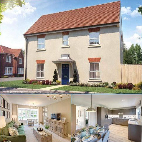 3 bedroom link detached house for sale - The Kingfisher, The Maltings, Benner Lane, West End, Woking, GU24