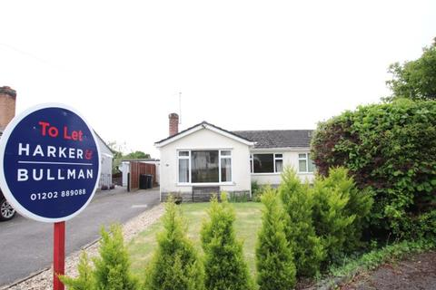 2 bedroom detached bungalow to rent - Dales Drive, Wimborne