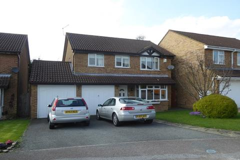 4 bedroom detached house for sale - Tiffany Gardens, East Hunsbury, Northampton, NN4
