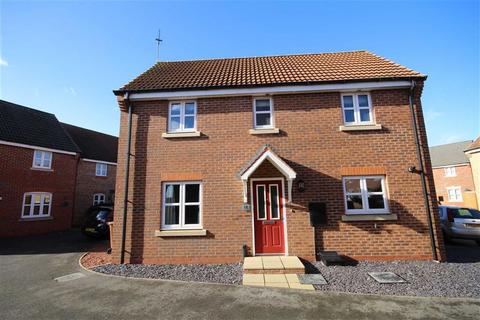 3 bedroom detached house for sale - Octavian Crescent, North Hykeham, Lincoln, Lincolnshire