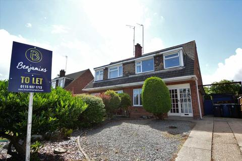 3 bedroom semi-detached house to rent - Wolds Drive, Keyworth, Nottingham