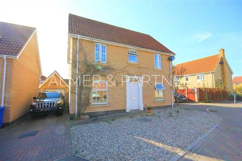 4 bedroom detached house for sale - Pottersfield, Great Cornard