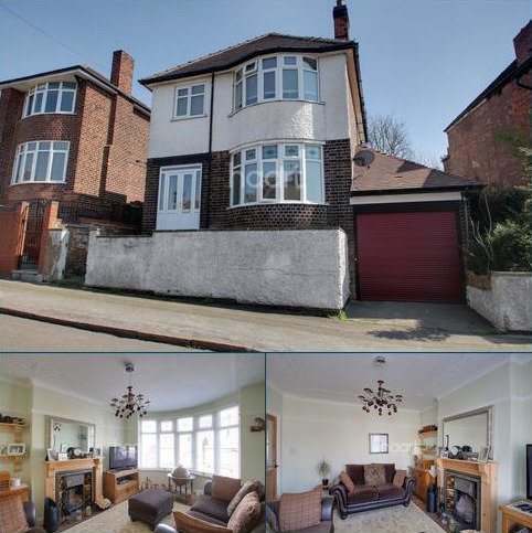 3 bedroom detached house for sale - Thorneywood Mount, Thorneywood