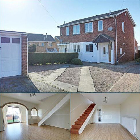 2 bedroom semi-detached house for sale - Alderson Drive, Smithies
