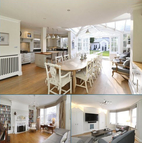 7 bedroom semi-detached house to rent - North View, Wimbledon Common, London, SW19