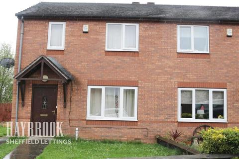 2 bedroom semi-detached house to rent - Castlebeck Drive Sheffield S2