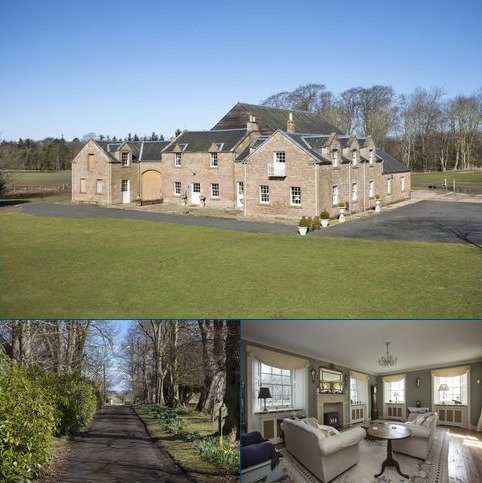 5 bedroom detached house for sale - The Coach House & Stables, Swinton House, Duns, Berwickshire, TD11