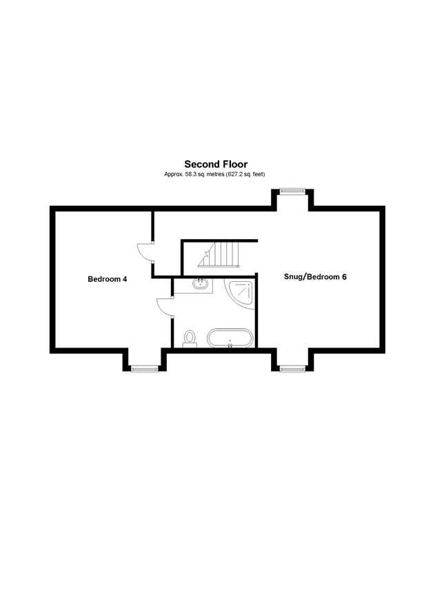 Floorplan 3 of 3: Studio Second