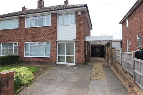 3 bedroom semi-detached house for sale - Delaware Road, Styvechale, Coventry, CV3 6LX