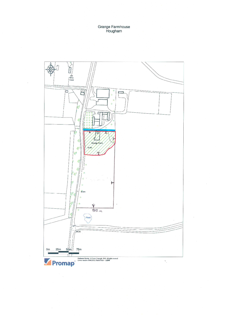 Floorplan 1 of 2: SIte plan and potential paddock