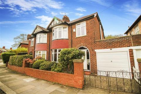 3 bedroom semi-detached house for sale - Rosebery Crescent, Jesmond, Tyne And Wear