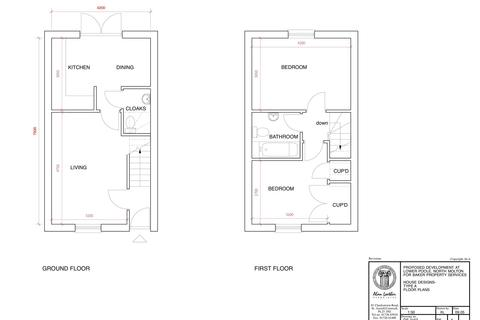 2 bedroom end of terrace house for sale - Plot 7 Winsor Meadow, North Molton, South Molton, Devon, EX36