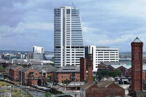 Studio to rent - Bridgewater Place, Water Lane, Leeds, LS11 5QB