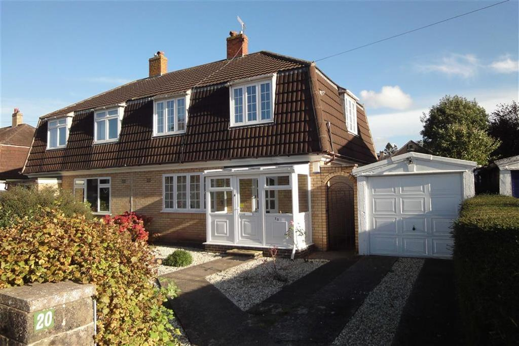 3 Bedrooms Semi Detached House for rent in Withey Close East, Westbury On Trym, Bristol