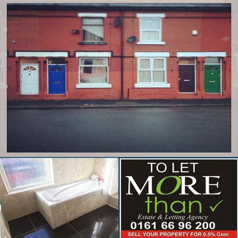2 bedroom house to rent - Cranswick St, Rusholme, Manchester M14