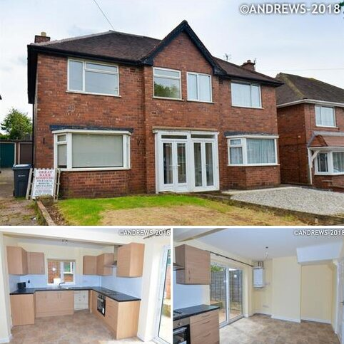3 bedroom semi-detached house to rent - Brackenfield Road, Great Barr, BIRMINGHAM