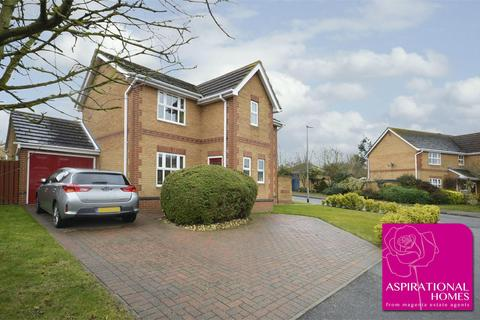 3 bedroom detached house for sale - Courtman Road, Stanwick, Northamptonshire