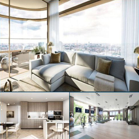 3 bedroom apartment for sale - Principal Tower, Worship Street, London E1