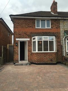 2 bedroom semi-detached house to rent - Birkenshaw Road, Great Barr, Birmingham, B44 8UJ