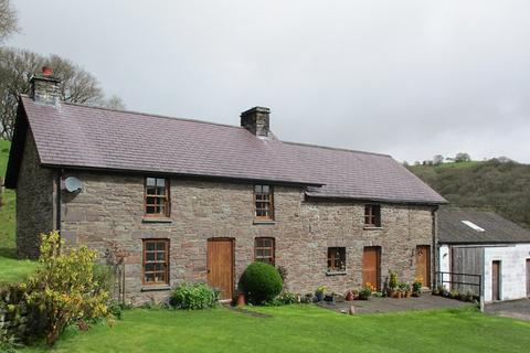 4 bedroom property with land for sale - Llanfihangel-Nant-Bran, Brecon, Powys.