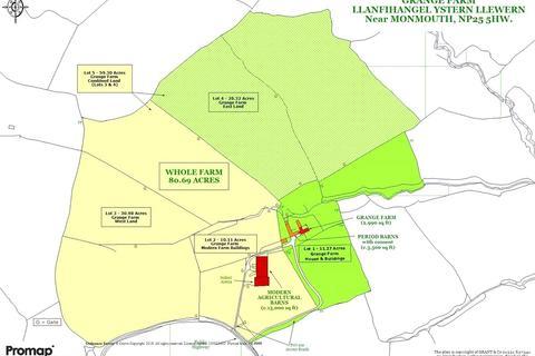 Equestrian facility for sale - Lot 4 Grange Farm, Llanfihangel Ystern Llewern, Monmouth, Monmouthshire, NP25