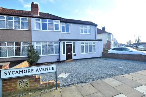 5 bedroom end of terrace house for sale - Sycamore Avenue, Sidcup, Kent, DA15