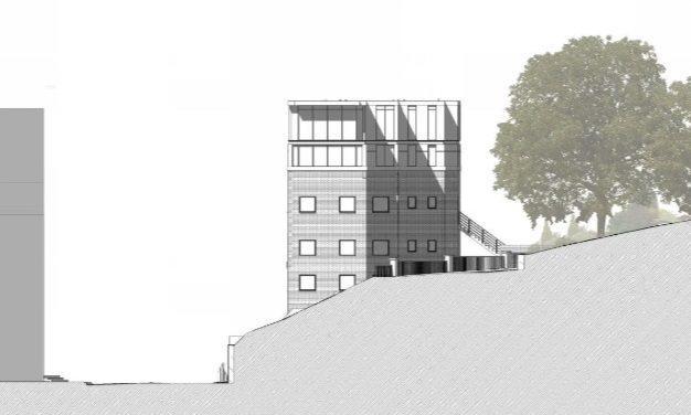 Proposed Side (East) Elevation
