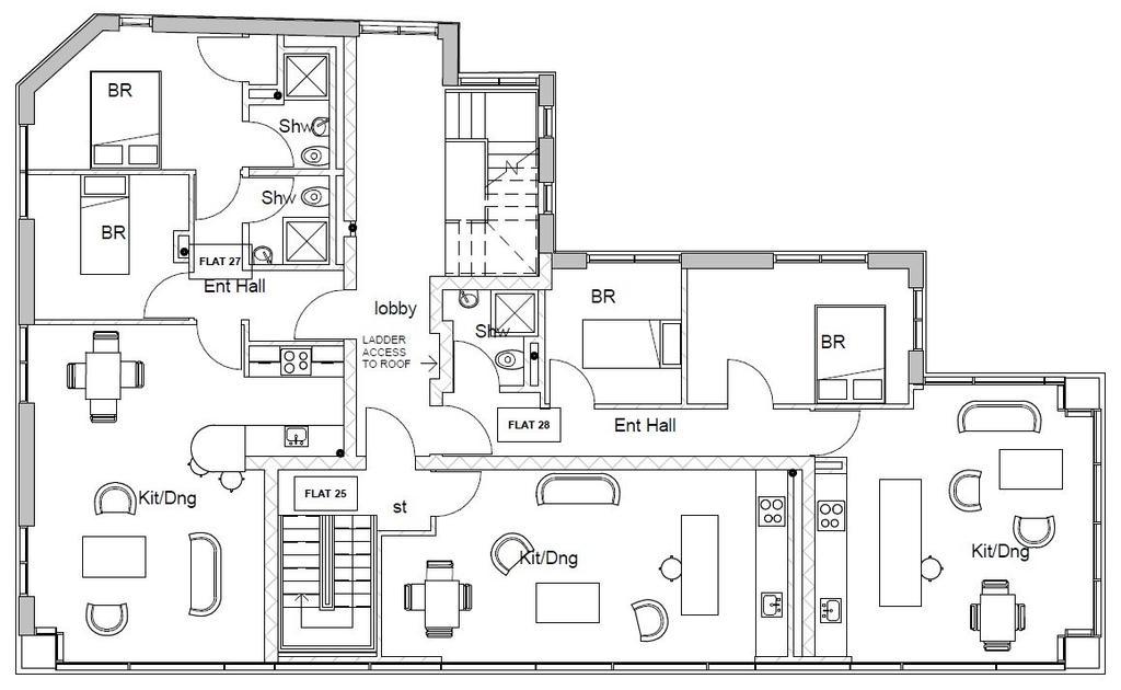 Proposed Sixth Floor