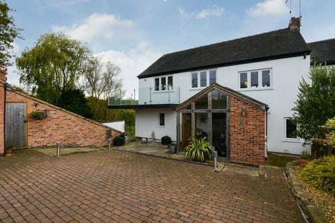 3 bedroom semi-detached house for sale - Mill House, 10 Bridle Lane, Lower Hartshay, Derbyshire, DE5 3RQ