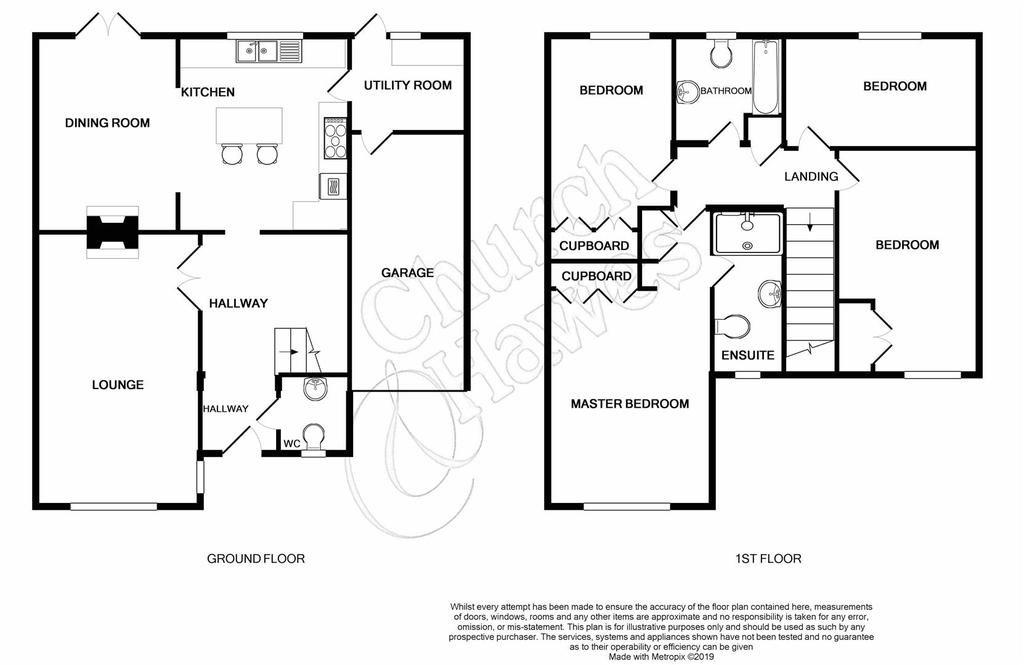 Floorplan: 53 Celebornstreet South Woodham Ferrers Essex CM37 AE pri