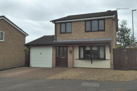 3 bedroom detached house for sale - Fleetwind Drive, East Hunsbury, Northampton, NN4