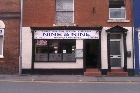 Restaurant for sale - Widemarsh Street, Hereford, HR4