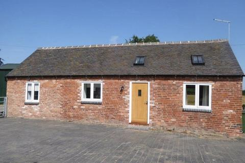 1 bedroom detached house to rent - The Barn Field House Farm, Stafford. ST21 6LX
