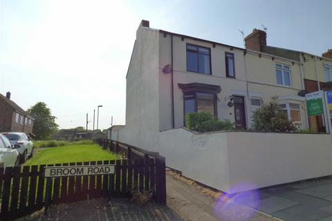 3 bedroom end of terrace house for sale - 51, Broom Road, Ferryhill