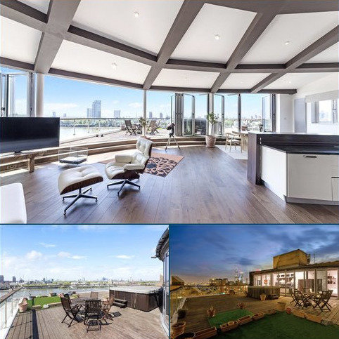 3 bedroom penthouse for sale - Riverview Court, Old Bellgate Place, Isle Of Dogs, London, E14