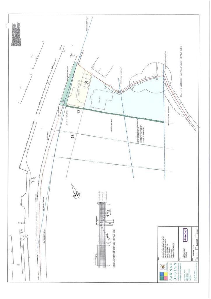 Floorplan 1 of 2: Pontwellyplot2.jpg