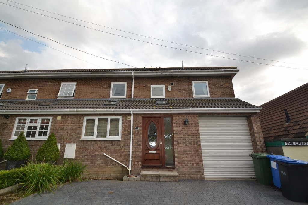 4 Bedrooms Semi Detached House for sale in The Crest, The Village,Seaton