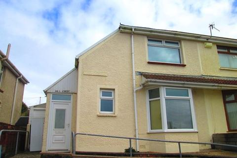 2 bedroom semi-detached house to rent - Eigen Crescent, Mayhill, Swansea, City And County of Swansea.
