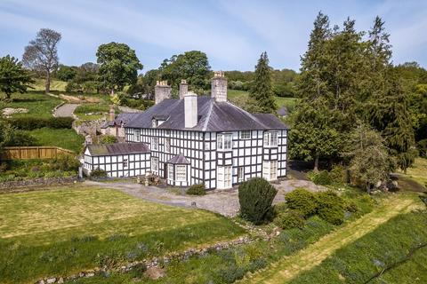 6 bedroom manor house for sale - Eyarth Hall (Lot 1), Llanfair Dyffryn Clwyd, Ruthin