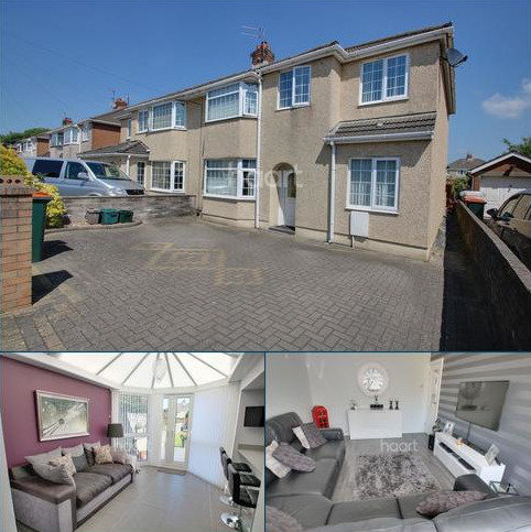 4 bedroom semi-detached house for sale - Dorset Crescent, Liswerry, Newport