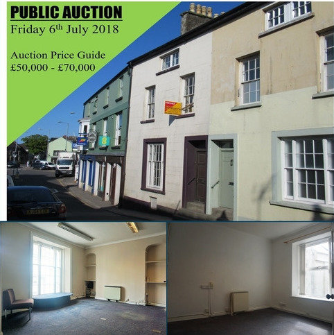 Terraced house for sale - 5 High Street, Fishguard, Pembrokeshire