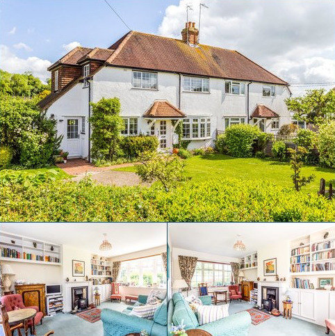 3 bedroom semi-detached house for sale - Jubilee Cottages, Seale Lane, Puttenham, Guildford, GU3