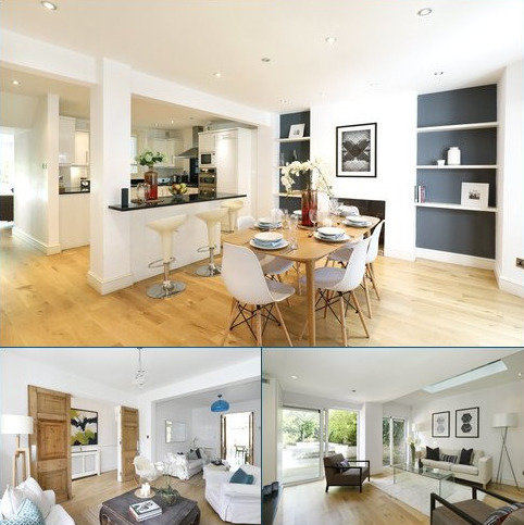4 bedroom terraced house for sale - Maxwell Road, Moore Park Estate, Fulham Broadway, London, SW6
