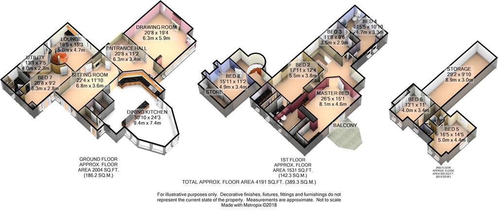 Floorplan 2 of 7: Floor Plan 3 D