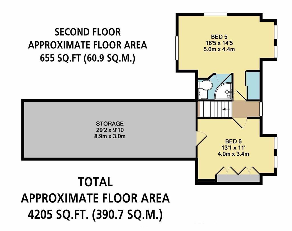 Floorplan 7 of 7: Second Floor