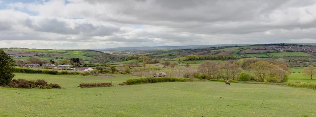 View from Summerley Top