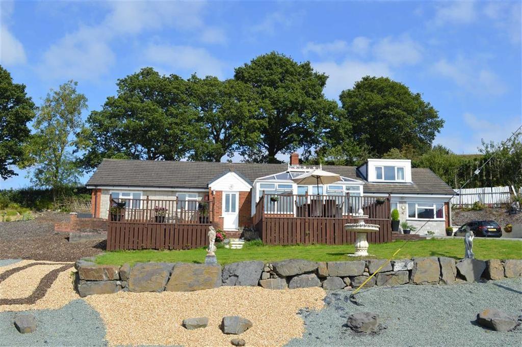 6 Bedrooms Detached Bungalow for sale in Erw Wernddu, Wern Ddu Lane, Wern Ddu Lane, Newtown, Powys, SY16